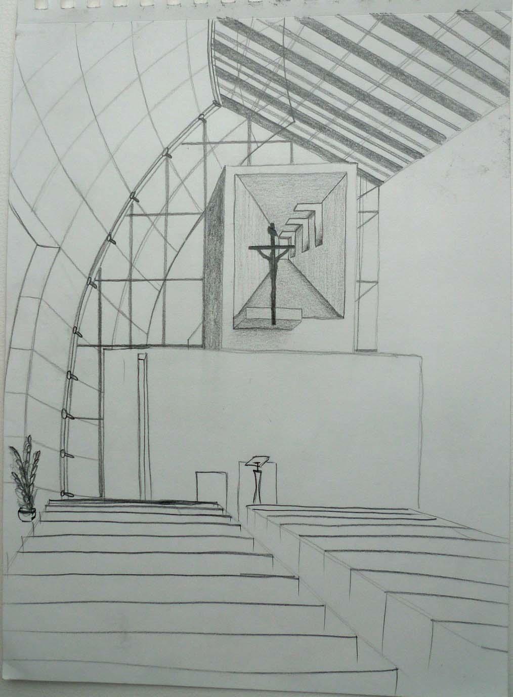 Architectural Drawing In Rome Interior Architecture